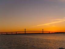 De brug van Nieuwpoort stock afbeeldingen