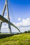 De brug van Normandië royalty-vrije stock afbeeldingen