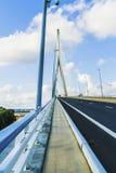 De brug van Normandië royalty-vrije stock foto