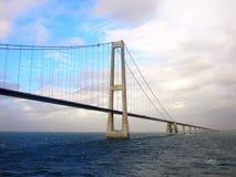 De brug van Oresund stock afbeeldingen
