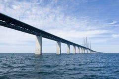 De brug van Oresund Stock Afbeelding