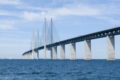 De brug van Oresund Royalty-vrije Stock Afbeeldingen