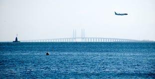 De brug van Oresund Stock Foto's