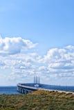 De brug van Oresunds Stock Fotografie