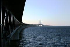 De brug van Oresunds royalty-vrije stock fotografie
