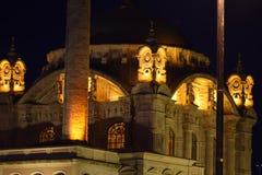 De Brug van Ortakoybosphorus, Istanboel Bokeh stock afbeelding