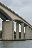 De brug van Orwell stock afbeeldingen