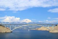 De brug van Pag Stock Afbeelding