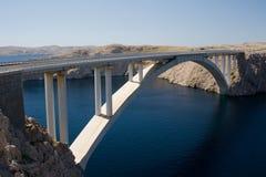 De brug van Pag Stock Foto