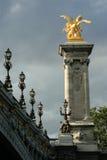 De brug van Parijs Stock Foto