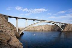 De brug van Paski royalty-vrije stock foto's