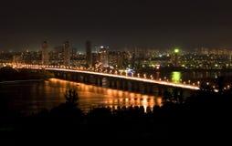 De brug van Patons Royalty-vrije Stock Foto's