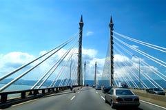 De Brug van Penang Stock Fotografie