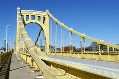 De Brug van Pittsburgh stock afbeeldingen