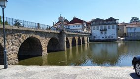 De brug van Portugal Stock Afbeelding