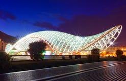 De brug van Prace in Tbilisi Royalty-vrije Stock Afbeeldingen