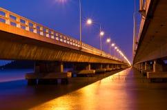 De brug van Pream Royalty-vrije Stock Foto
