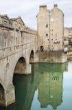 De brug van Pulteney Stock Foto's