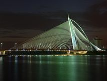 De brug van Putrajaya Royalty-vrije Stock Foto