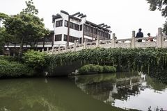 De Brug van de Qinhuairivier Royalty-vrije Stock Afbeelding