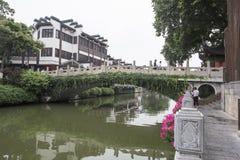 De Brug van de Qinhuairivier Royalty-vrije Stock Foto