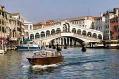 De brug van Rialto, Venetië Royalty-vrije Stock Afbeelding
