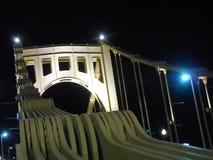 De brug van Roberto clemente, Pittsburgh Royalty-vrije Stock Fotografie