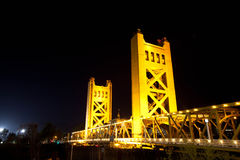 De Brug van Sacramento Stock Foto