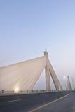 De Brug van Salman van de Bak van Bahrein - van Shaikh Isa royalty-vrije stock afbeeldingen