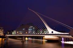 De brug van Samuel Beckett Stock Foto