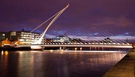 De brug van Samuel Beckett Stock Foto's