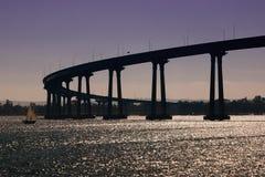 De Brug van San Diego-Coronado stock afbeelding