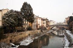 De brug van San Michele Stock Foto