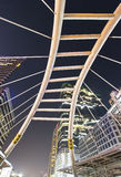 De brug van Sathorn Royalty-vrije Stock Afbeelding