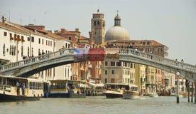 De brug van Scalzi Royalty-vrije Stock Foto's