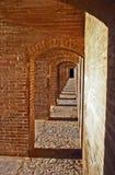 De Brug van Se Pol. van Si o, Esfahan Stock Afbeeldingen