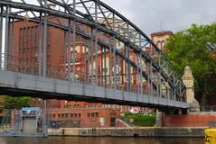 De brug van Siemenssteg Royalty-vrije Stock Fotografie