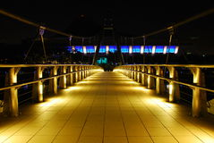 De Brug van Singapore Tg Rhu Royalty-vrije Stock Fotografie