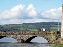 De brug van stenen Stock Afbeeldingen