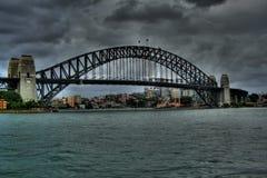 De brug van Sydney Royalty-vrije Stock Afbeeldingen