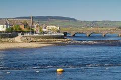 De brug van Thomond in Limerick stock fotografie