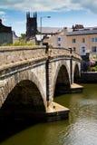De brug van Totnes in Totnes, Devon Royalty-vrije Stock Afbeelding