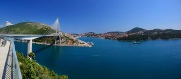 De Brug van Tudman van Franjo, Dubrovnik Royalty-vrije Stock Foto's