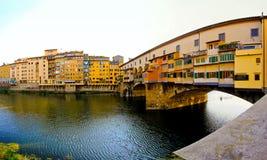 De brug van Vecchio van Ponte stock foto