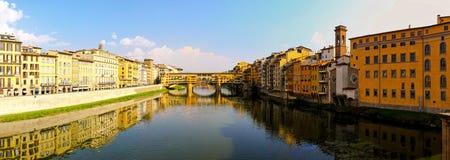 De brug van Vecchio van Ponte royalty-vrije stock afbeeldingen