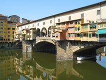 De Brug van Vecchio van Ponte Stock Afbeelding