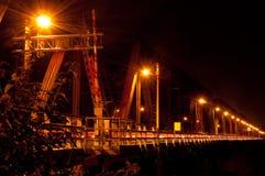 De brug van Victoria in Montreal Royalty-vrije Stock Afbeeldingen