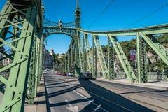 De brug van de vrijheid in Boedapest Royalty-vrije Stock Afbeelding