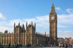 De Brug van Westminster Stock Fotografie