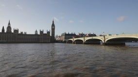 De Brug van Westminster stock videobeelden